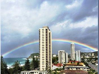EasyRoommate AU - Beachside ten floor unit. - Burleigh Heads, Gold Coast - $200 pw