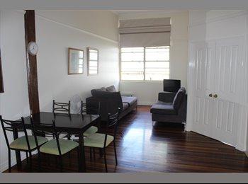 EasyRoommate AU - ROOMSHARE great inner-city apartment - Brisbane, Brisbane - $120 pw
