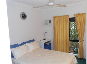 EasyRoommate AU - Fully Furnished Bedroom in a 3 bedroom apartment 2 bathrooms with one other , Earlville - $130 pw