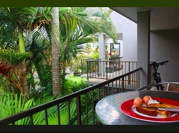 EasyRoommate AU - Sunny Mooloolaba Garden Apartment  - Mooloolaba, Sunshine Coast - $215 pw