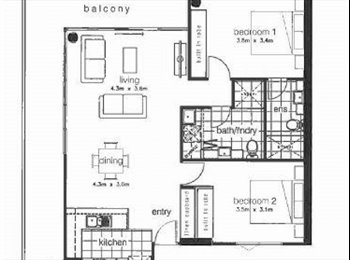 EasyRoommate AU - Spacious apartment for lease - 12 months - Maribyrnong, Melbourne - $215 pw