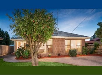 The well-furnished house is located beside Darebin Creek,...
