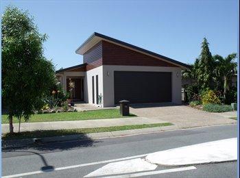 EasyRoommate AU - Modern 4 x Bedroom House, 2 x bathroom house to share - Trinity Park, Cairns - $225 pw