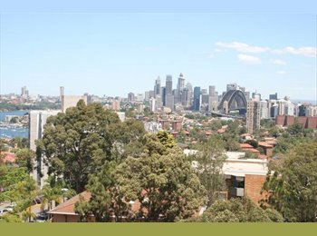 EasyRoommate AU - Room for rent in a Penthouse in Neutral Bay with City/Harbour Views - Neutral Bay, Sydney - $350 pw