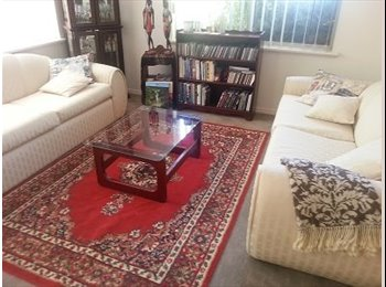 Great Room in  Quiet DelightfulHome