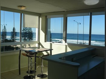 SURFERS PARADISE  BEACHFRONT Apartment -  AVAILABLE NOW - ...