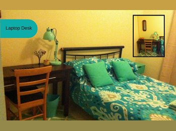 Long term or short term room available - single or couples...