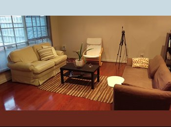 Spacious room available - Partly furnished room & fully...