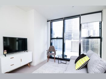 Furnished 1 bedroom apartment in the heart of Melbourne's...