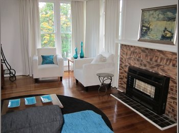 Large room in spacious home on the park near Deakin Burwood