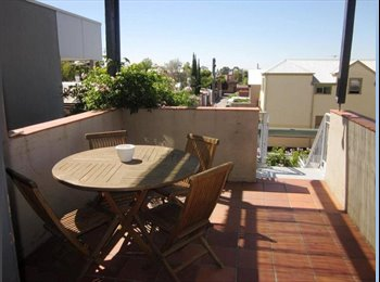EasyRoommate AU - Short Term room let in lovely Rathdown Street apartment, Melbourne - $220 pw