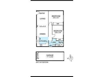 EasyRoommate AU - Room for rent in newly renovated Brunswick West apartment $160, Melbourne - $160 pw