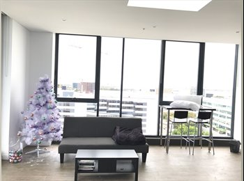 Penthouse level apartment, 7 minutes to CBD