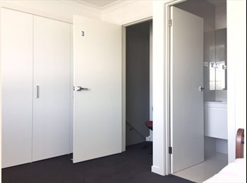 Master room with private toilet and bathroom