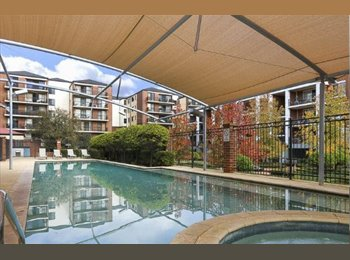 EasyRoommate AU - Giant bright fully furnished Perth apartment w pool, gym, garden!, Perth - $230 pw