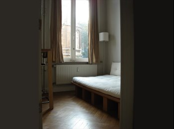 Appartager BE - SINGLE BEDROOM in a host family accommodation, Saint Gilles Sint Gillis - 650 € / Mois