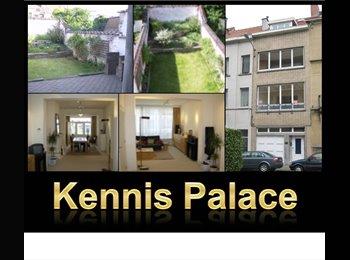 Appartager BE - 1 bedroom available in 270 sq.m. nice house !, Schaerbeek Schaarbeek - 500 € / Mois
