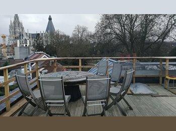 Appartager BE - petit nid douillet - calme - lumineux :-))), Laeken - 620 € / Mois