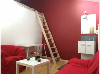 Appartager BE - chambre type studio lumineuse et moderne, Gembloux - 350 € / Mois