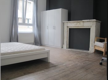 Appartager BE - BEAUTIFUL LARGE ROOMS IN ANTWERP CENTRE from july 2017, Anvers - 400 € / Mois