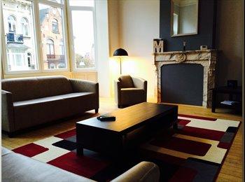 Appartager BE - Maison de maître 9 chambres entièrement rénovée - Schaerbeek Schaarbeek, Bruxelles-Brussel - 500 € / Mois