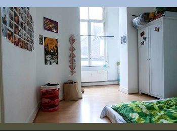 Appartager BE - Room to rent in Louise: cool appartment, perfect l - le Pentagone (centre ville), Bruxelles-Brussel - 577 € / Mois