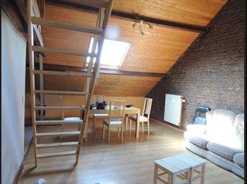 Appartager BE - Studio dans un grenier aménagé, Gembloux - 500 € / Mois
