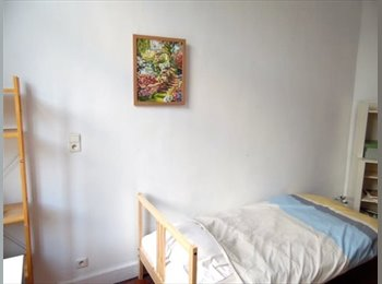 Appartager BE - Room for rent , Saint Gilles Sint Gillis - 400 € / Mois