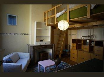 Appartager BE - chambre étudiant mezzanine - Schaerbeek Schaarbeek, Bruxelles-Brussel - 350 € / Mois
