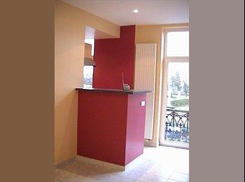 Appartager BE - Appart 1 chbre + espace bureau tout confort - Ixelles-Elsene, Bruxelles-Brussel - 840 € / Mois
