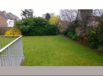 Appartager BE - Short/Long term, Un/Furnished, Garden 1000 sq meters - Evere, Bruxelles-Brussel - 600 € / Mois