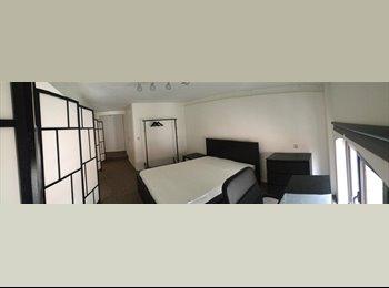 Appartager BE - Colocation dans un appartement esprit loft neuf , 1ère occupation  - Anderlecht, Bruxelles-Brussel - 550 € / Mois