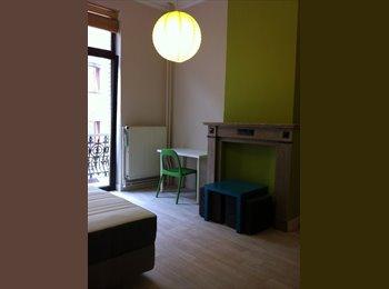 Appartager BE - Chambre (meublée) - 6 mois (Quartier Européen), Etterbeek - 540 € / Mois