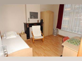 Appartager BE - Chambre meublée, spacieuse et lumineuse pour étudiant ou staagiaire - Ixelles-Elsene, Bruxelles-Brussel - 550 € / Mois