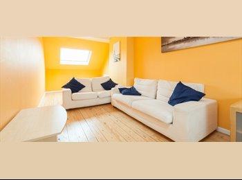 Appartager BE - Beau 2 chambres 1 salle de bains Appartement pour les étudiants et les professionnels - le Pentagone (centre ville), Bruxelles-Brussel - 830 € / Mois