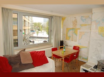 Appartager BE - Room next to Flagey - Ixelles-Elsene, Bruxelles-Brussel - 540 € / Mois