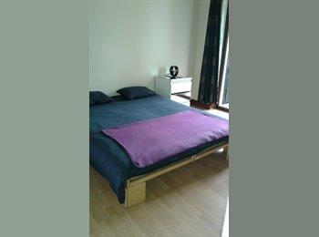Appartager BE - Charmante chambre  ensoleillée.  Sans domiciliation possible. , Bruxelles-Brussel - 480 € / Mois