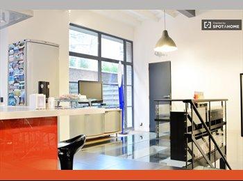 chambre dans appartemant duplex style loft 150 m2