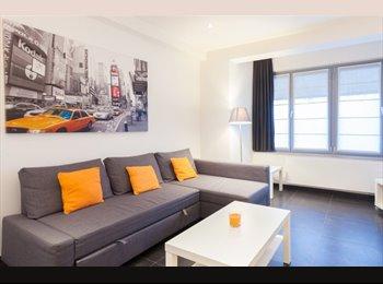 Appartager BE - Charme et Well-Connected Studio à Etterbeek - le Pentagone (centre ville), Bruxelles-Brussel - 700 € / Mois
