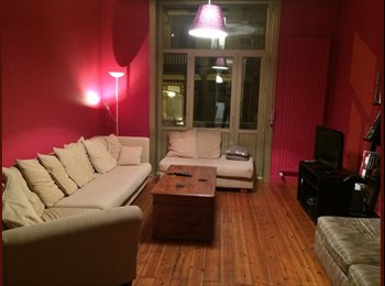 Appartager BE - Comfy well situated apartment for a 3 month stay - Ixelles-Elsene, Bruxelles-Brussel - 550 € / Mois