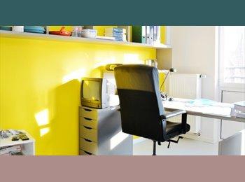 Appartager BE - Chambres avec salle de bains privée dans un Residence Hall Student - le Pentagone (centre ville), Bruxelles-Brussel - 600 € / Mois