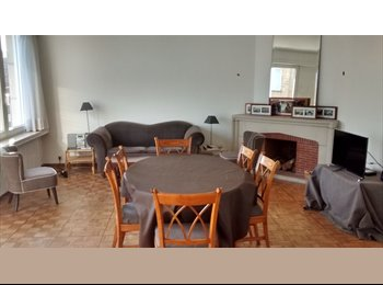 Appartager BE - Chambre dans appartement spacieux/ Room in a large appartement  , Etterbeek - 500 € / Mois