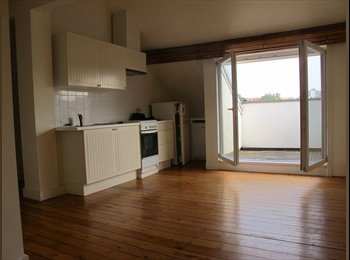 Appartager BE - Proche metro merode super appart 2 bedrooms with nice terrasse, Bruxelles-Brussel - 980 € / Mois