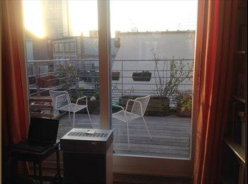 Appartager BE - Chambre à louer – appartement Marolles, Bruxelles-Brussel - 620 € / Mois