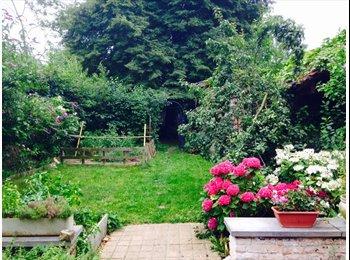 Appartager BE - Belle et grande maison avec jardin - coloc' de 5, Bruxelles - 390 € / Mois