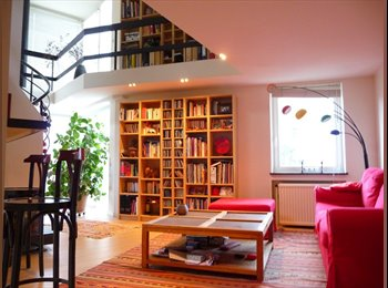 Appartager BE - Magnifique duplex rénové de 90m2, Watermael-Boitsfort - 699 € / Mois