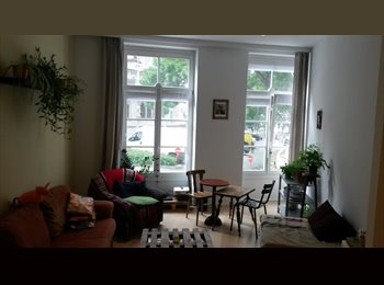 Appartager BE - Chambre + SDB privée dans appartement plein centre / Room+private bathroom in Brussels Center, Bruxelles - 540 € / Mois