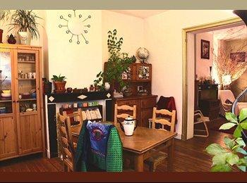 Appartager BE - Chambre à sous-louer de mi-janvier à mi-août, derrière Tour et Taxi, 450€/mois TCC., Laeken - 450 € / Mois