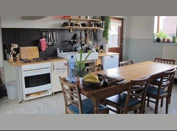 Appartager BE - 2 chambres à louer en colocation dans une charmante maison avec jardin, Jurbise - 400 € / Mois