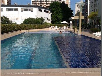 EasyQuarto BR - Apartamento na Barra - Barra da Tijuca, Rio de Janeiro (Capital) - R$ 2.000 Por mês
